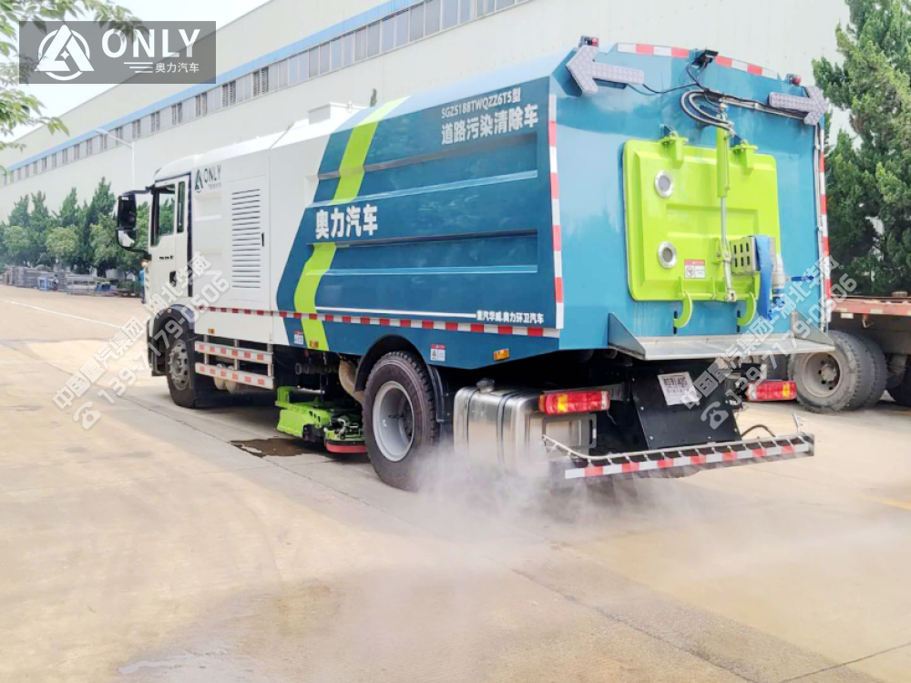 重汽T5G道路污染清除车(深度保洁车)