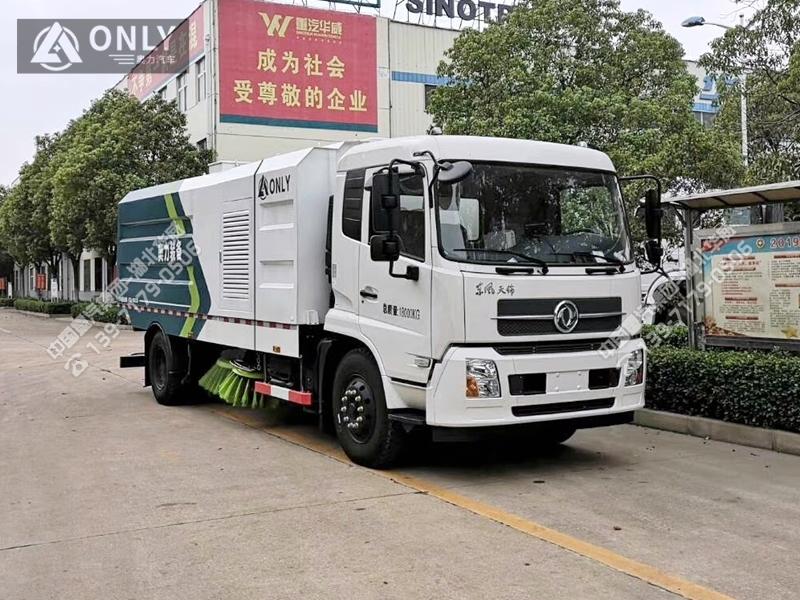 东风天锦扫路车(10.5立方/国六)