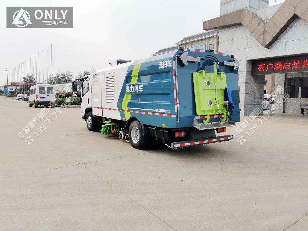 庆铃五十铃洗扫车