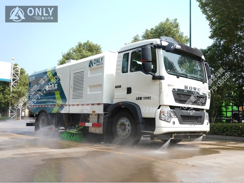 重汽T5G洗扫车(16立方/国六)